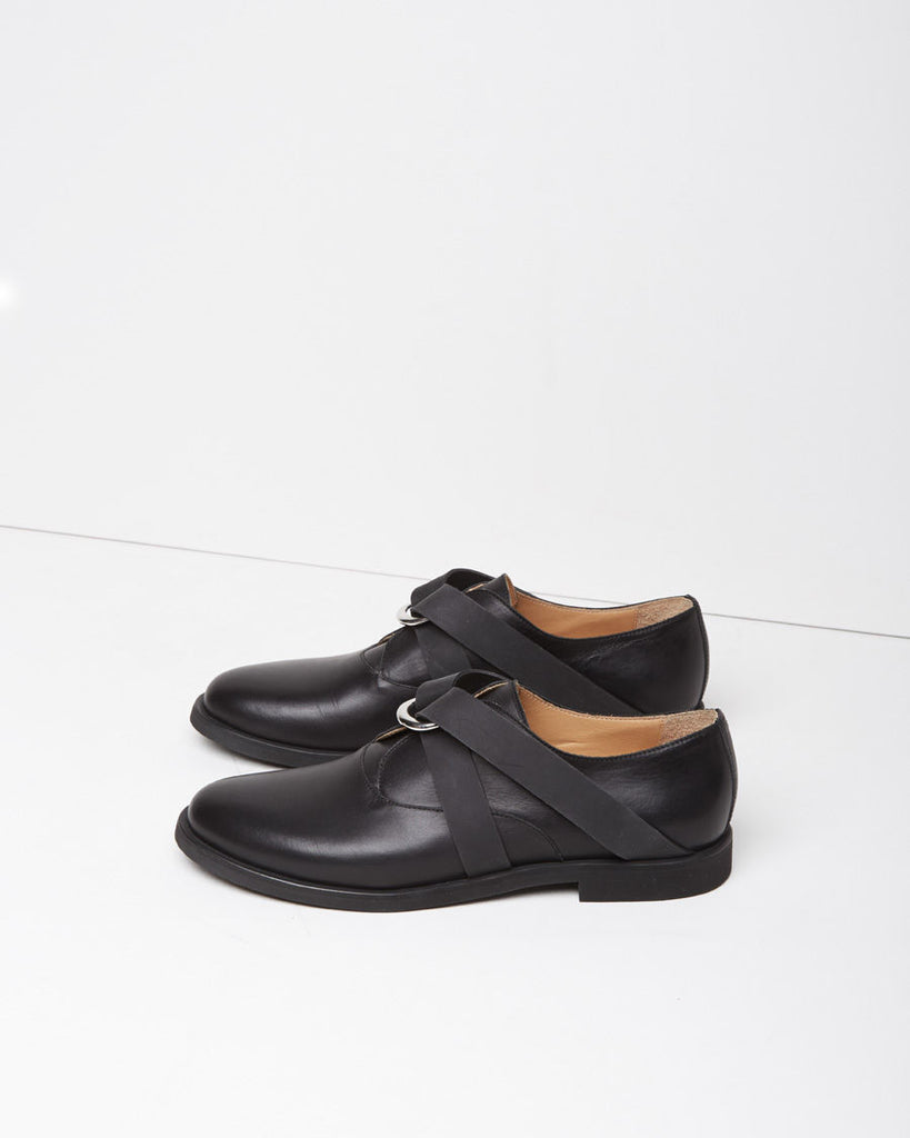 Calfskin Rubber Oxfords