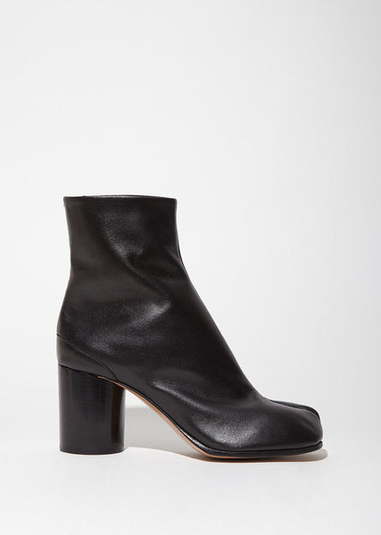 Light Brushed Effect Tabi Boots