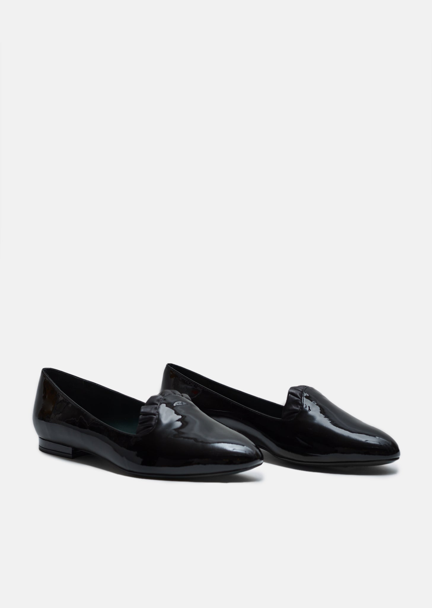 8b6808182de Patent Leather Loafers by Mulberry- La Garçonne