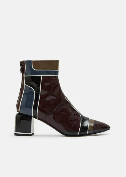 Machina Patent Ankle Boot