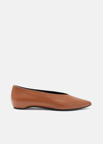 Paloma Leather Ballet Flats