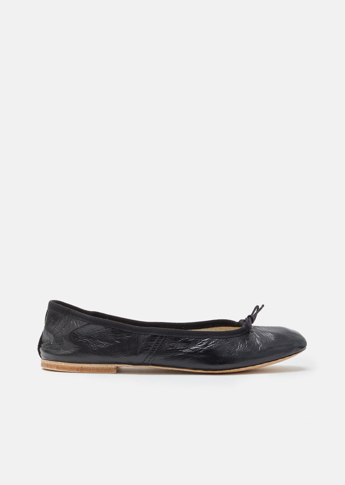 Ballet Flats Ballerina Shoes for Women On Sale, Black, Leather, 2017, 3.5 Acne Studios