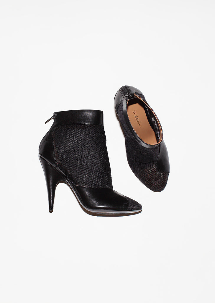 Shirley Mesh Ankle Boot