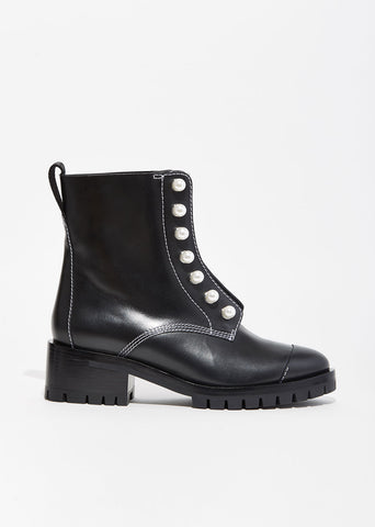 Hayett Lug Sole Zipper Boots
