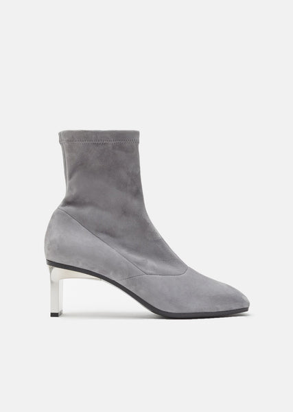 Blade 60MM Suede Ankle Boots