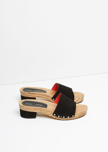 Wood Slide Sandal