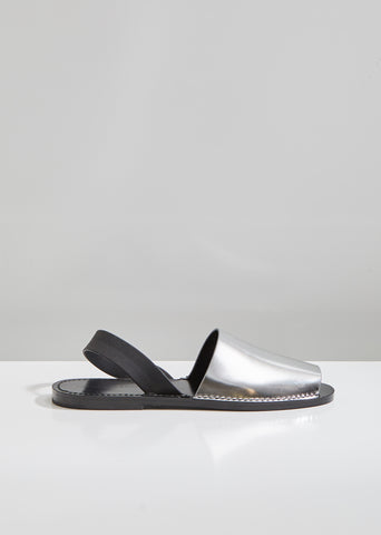 Rubber Sling Back Sandals