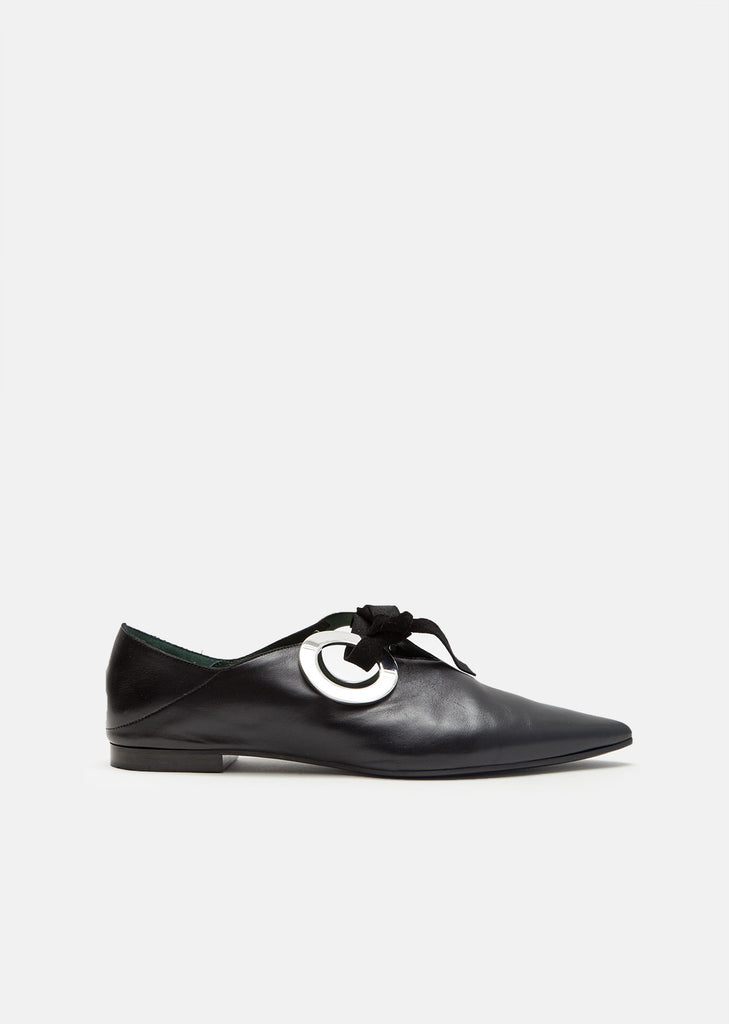 Babouch Leather Flats