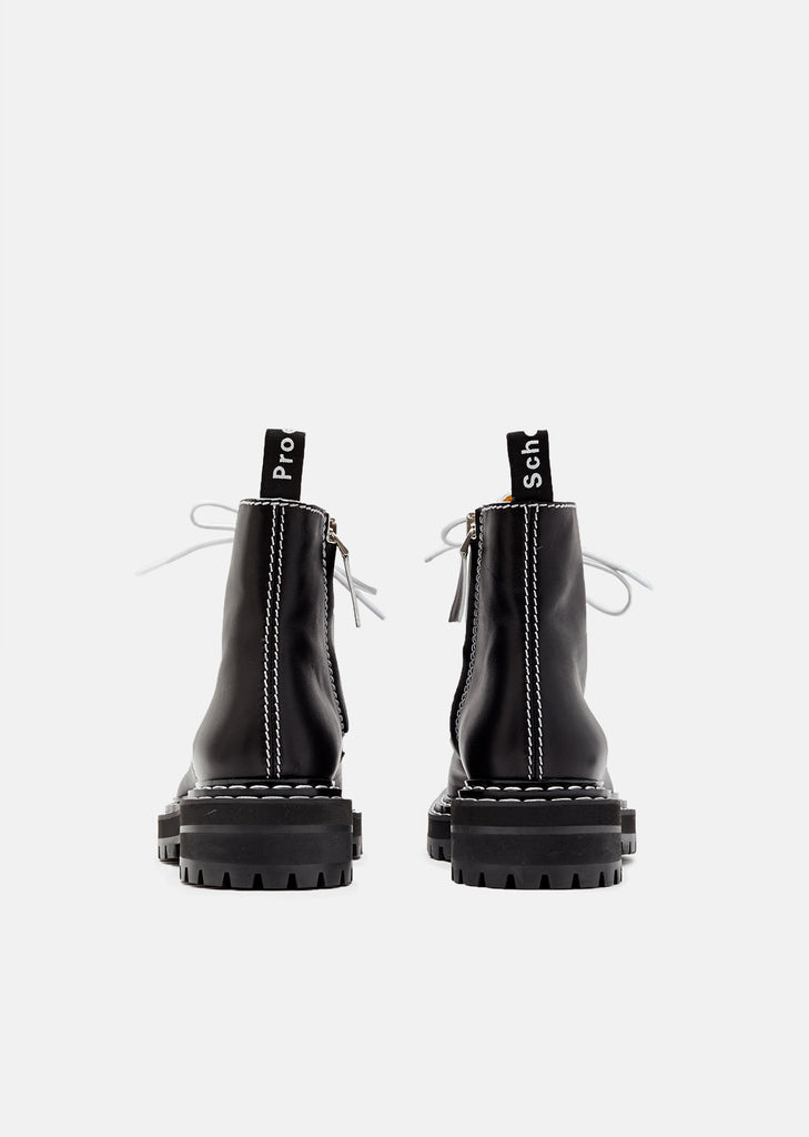 Lug Sole Calf Leather Boot