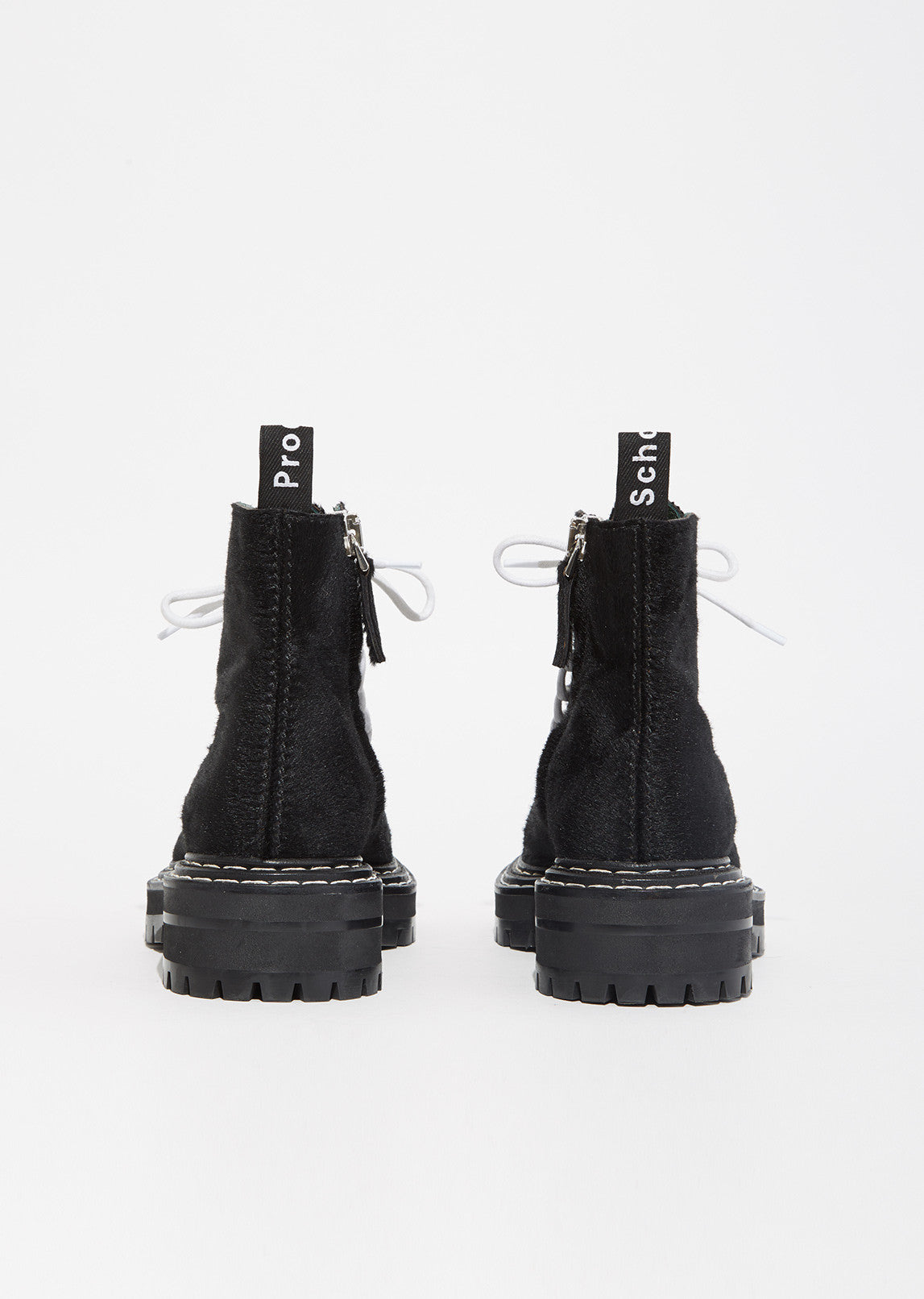 Lug Sole Pony Hair Boot