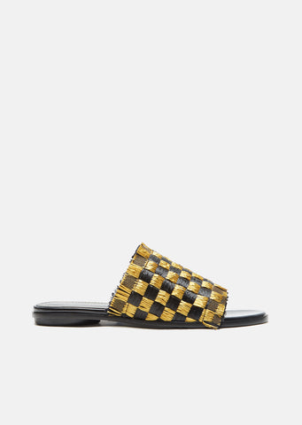 Checkerboard Sandal