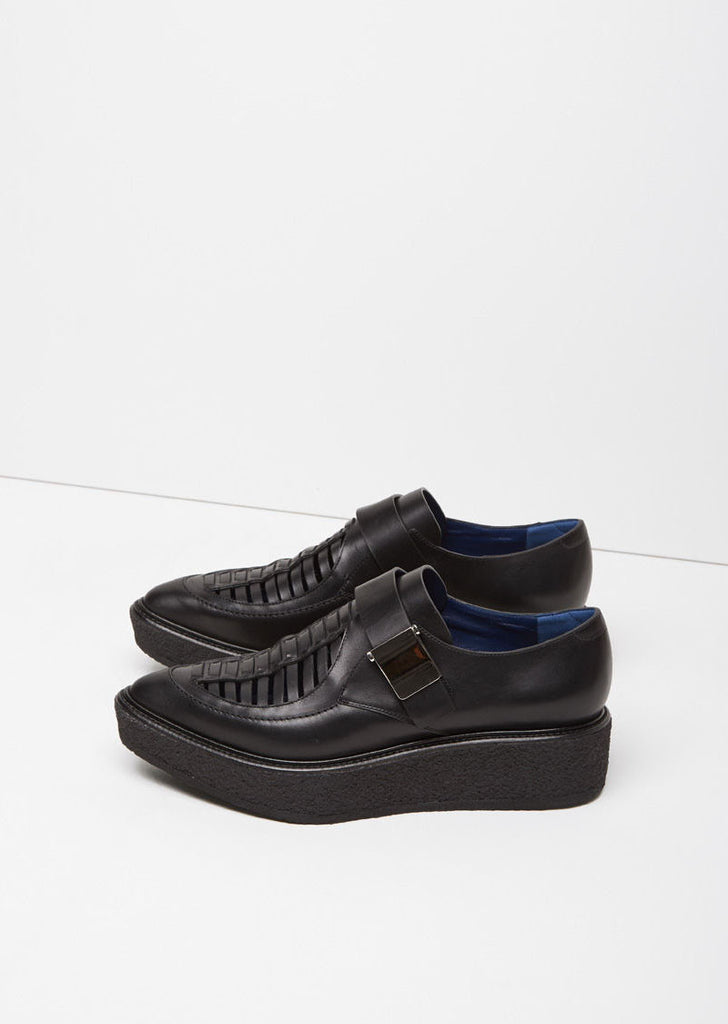 Pointy Toe Platform Oxford