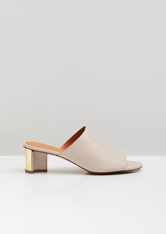 Agile Heeled Open-Toe Mules
