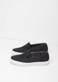 Tribal Raffia Slip-On