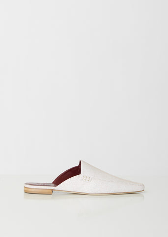 Lia Jean Calf Pointed Mule