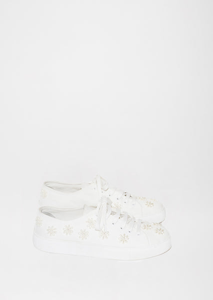 Beaded Plimsolls