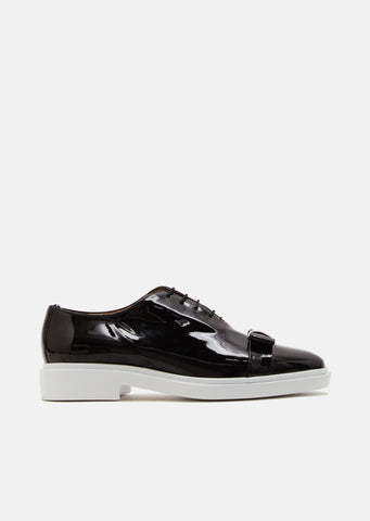 Patent Leather Bow Oxfords