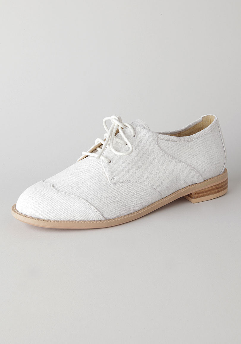 Canvas Saddle Shoe
