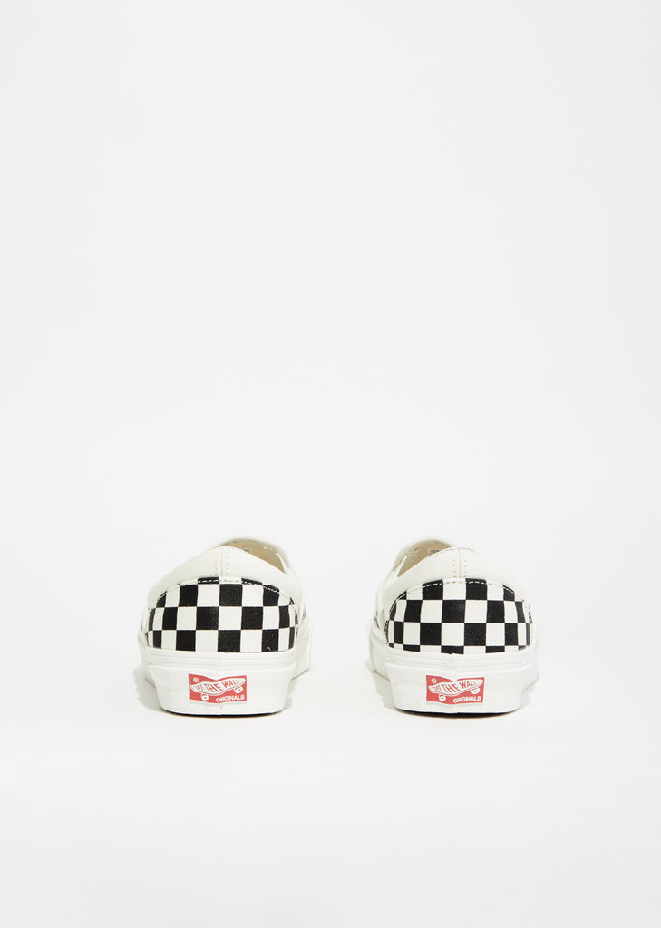 Unisex OG Classic Checkerboard Slip-On Sneakers