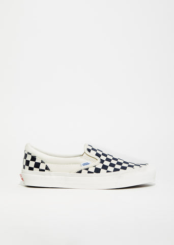 OG Classic Checkerboard Slip-On Sneakers