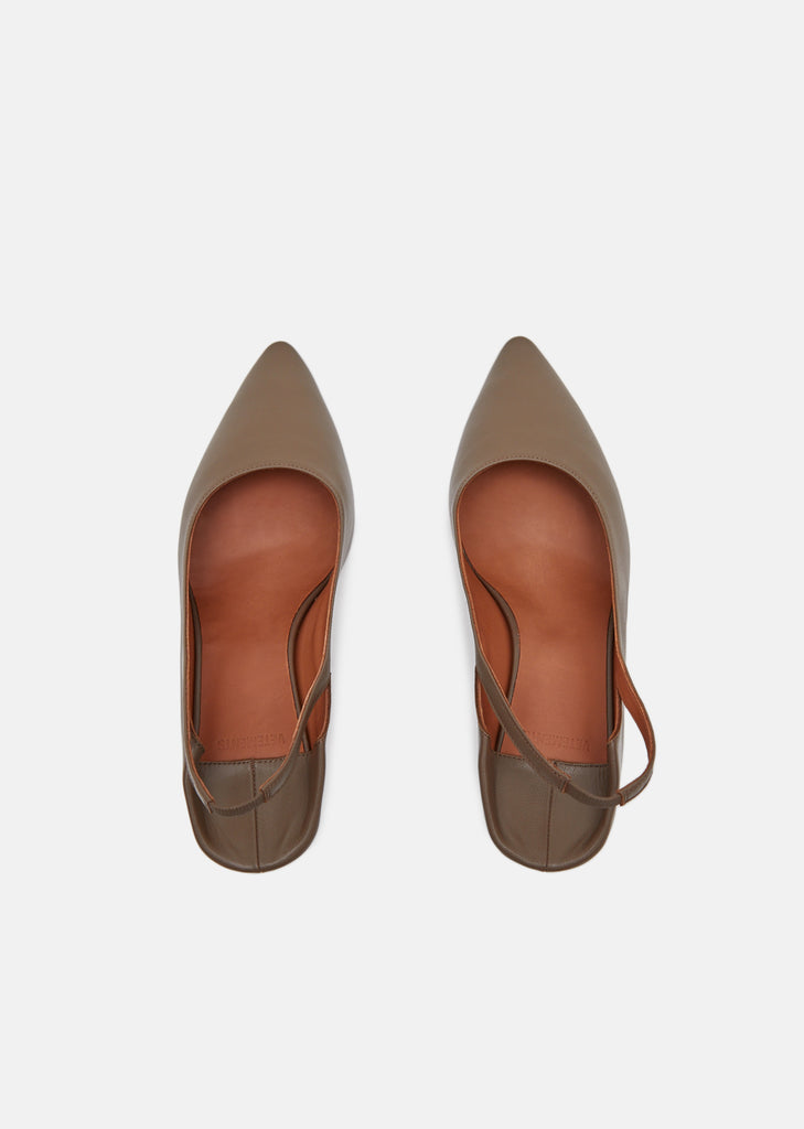 Leather Slingback Babouche