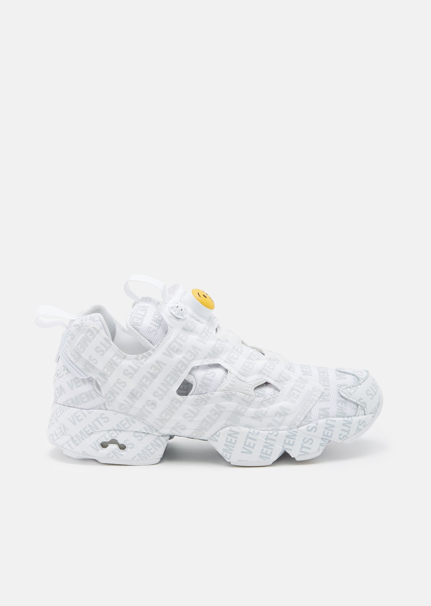 cbc57419b62e Reebok Logo Instapump Fury by Vetements- La Garçonne
