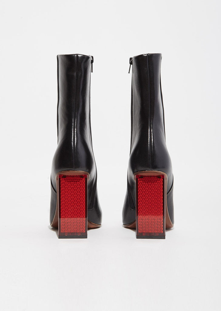 Reflector Heel Ankle Boots