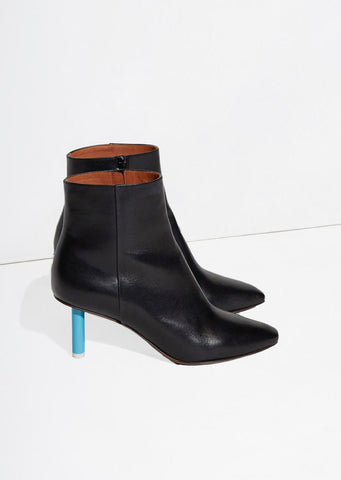 Short Lighter Heels Ankle Boots