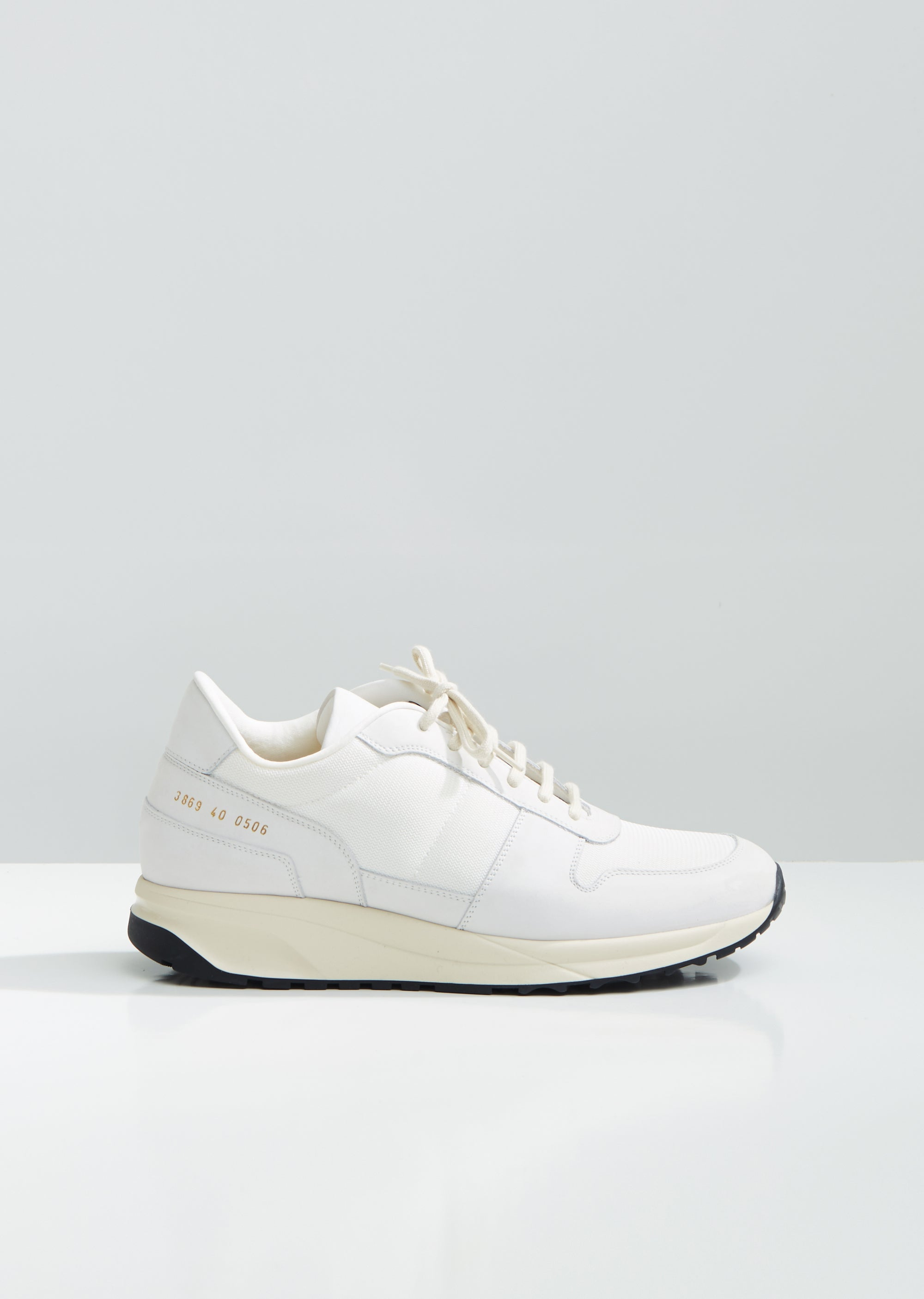 be59c3599a89 Track Vintage Sneakers by Woman By Common Projects- La Garçonne