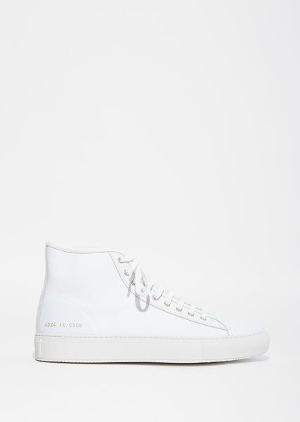 Tournament Canvas High-Top Sneaker