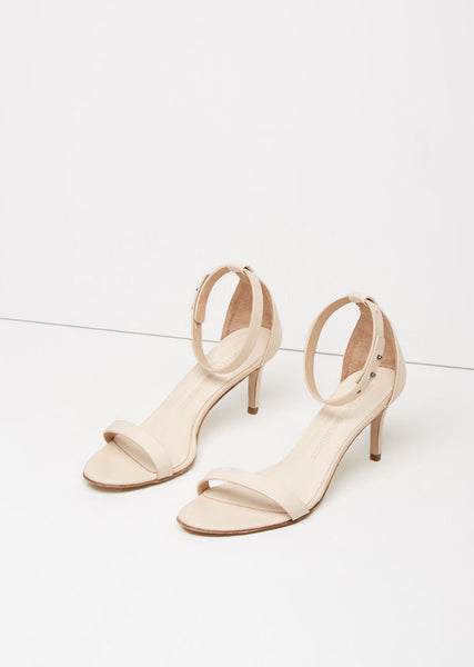 Woman by Common Projects Low Heel Strap Sandal La Garconne