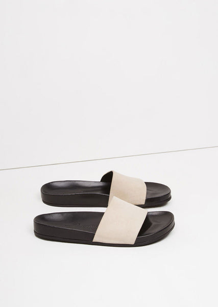 Woman by Common Projects BK Slide in Suede La Garconne