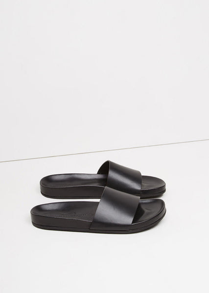 Woman by Common Projects Leather Slide La Garconne