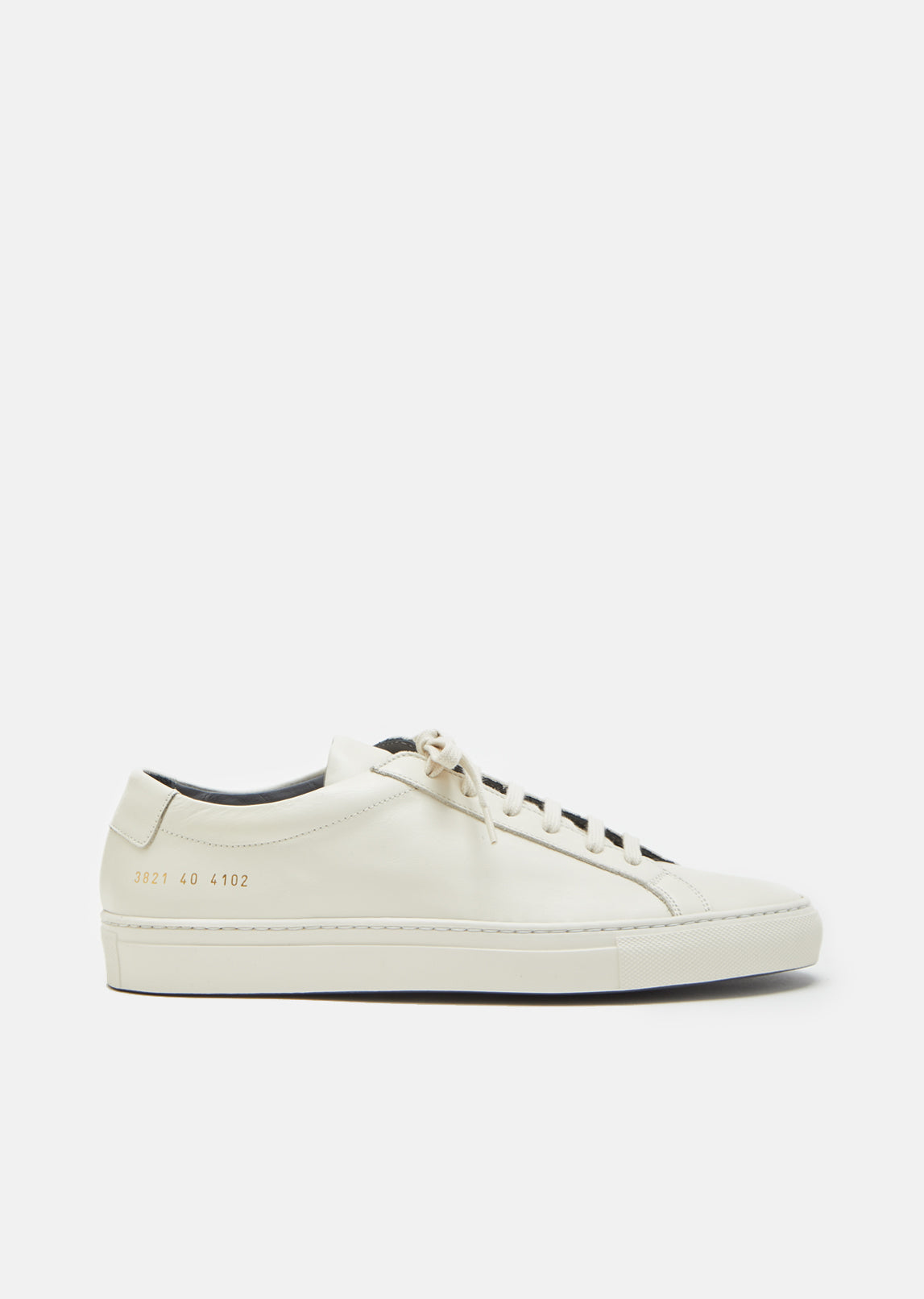 Sneakers for Women On Sale, White, Leather, 2017, 2.5 3.5 4.5 5.5 7.5 Common Projects