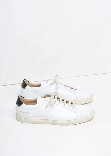 Woman by Common Projects Retro Achilles Low Sneaker La Garconne