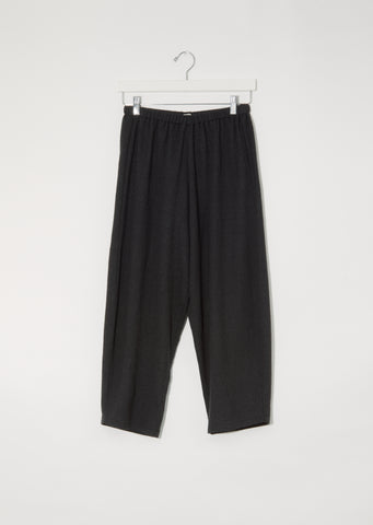 Wool Pullon Trousers