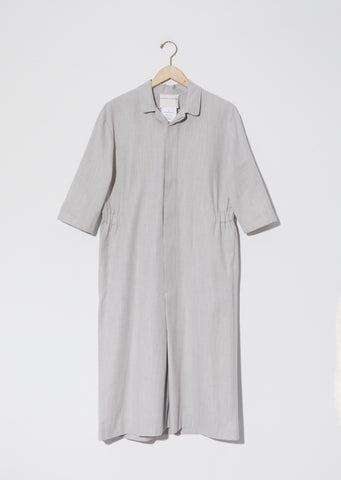 Cotton Apron Dress — Nougat