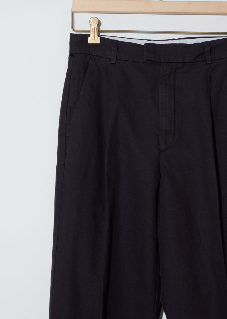 Cotton-Linen Alta Trousers