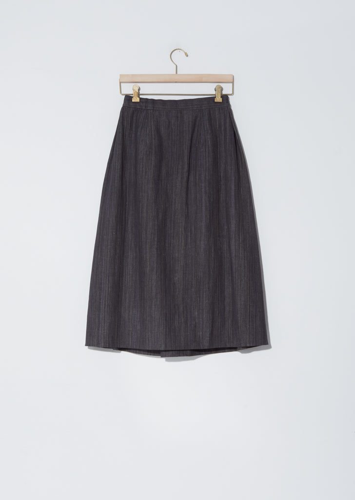 Cotton-Linen Program Skirt
