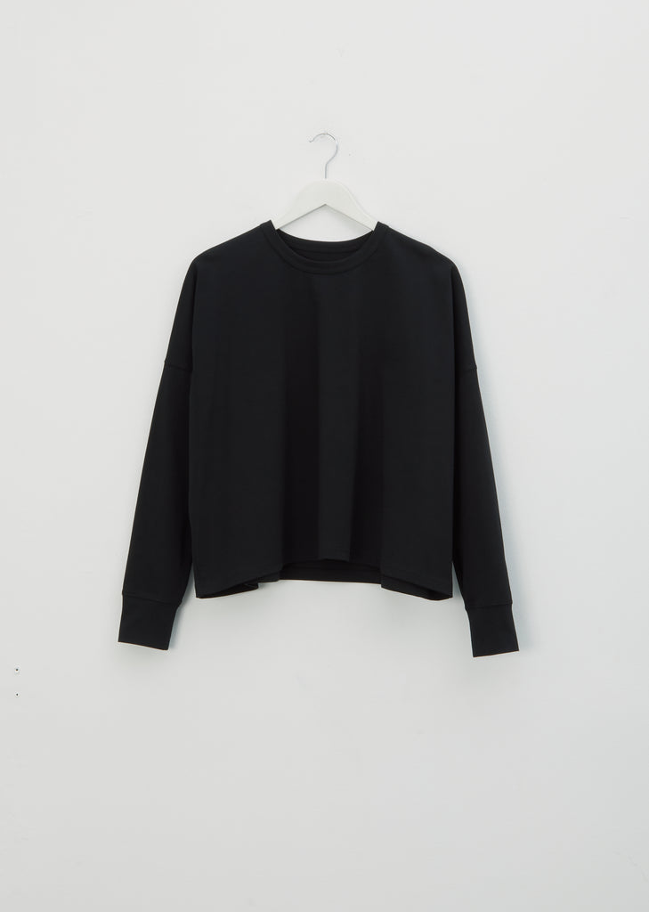 Loop Longsleeve T-Shirt — Black