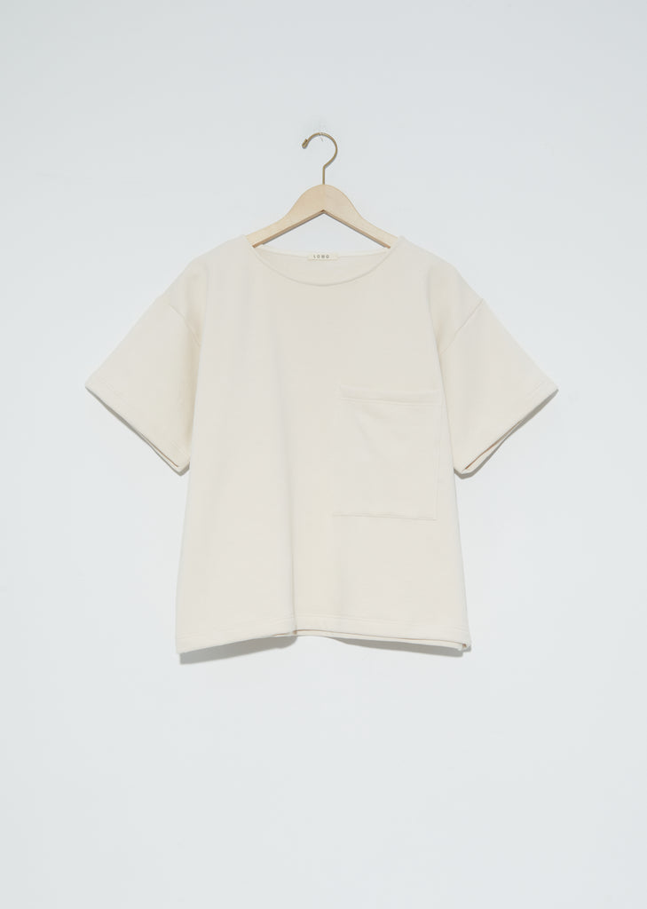 Organic Cotton Friedrich T Shirt — Natural