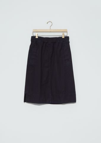 Indigo Twill Kit Skirt