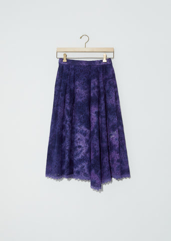 "Lace ""Kagozome"" Skirt"
