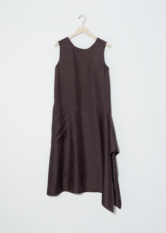 Dart Silk Twill Dress