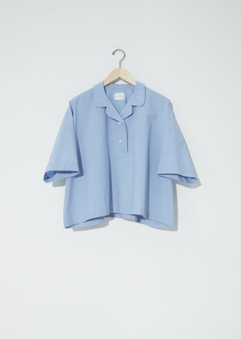 Brigitte Typewriter Cotton Shirt