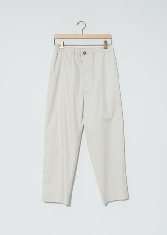 New Piura Ultra Light Cotton Satin Trousers