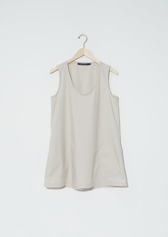 Bodice Cotton Poplin Tank Top