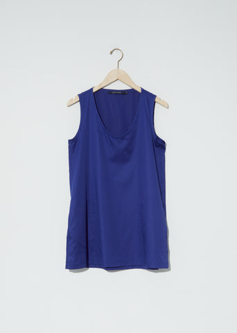 Bodice Cotton Satin Tank Top