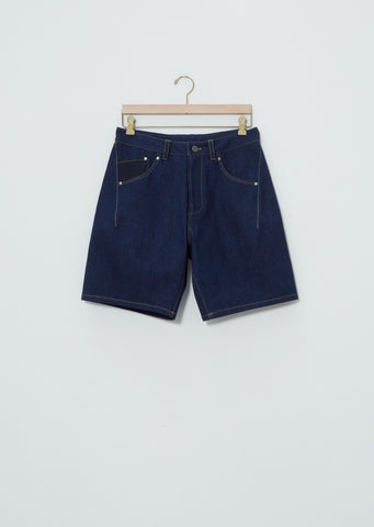 Relaxed Jean Short