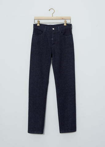 Hidden Pockets Straight Leg Jean